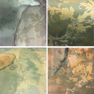 In stages - 'partial revealment'